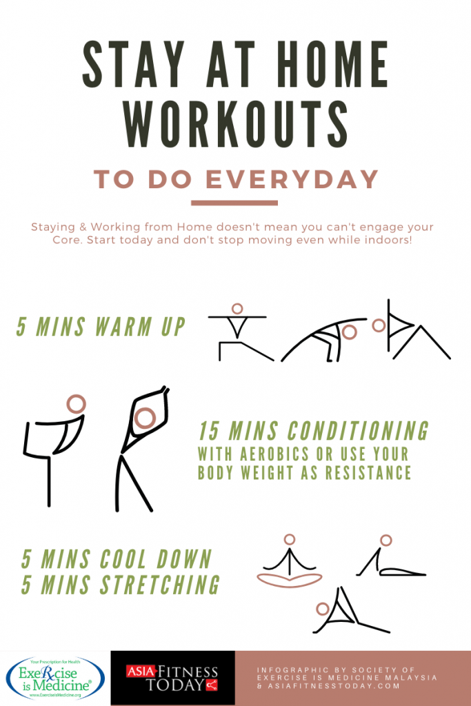 Stay at Home Exercise