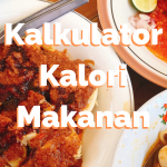 Indonesian Calorie Table